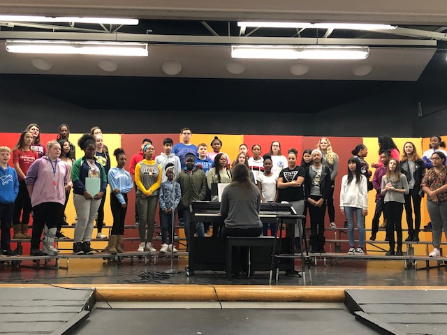 2018 12 12 East Middle School Holiday Musical 1