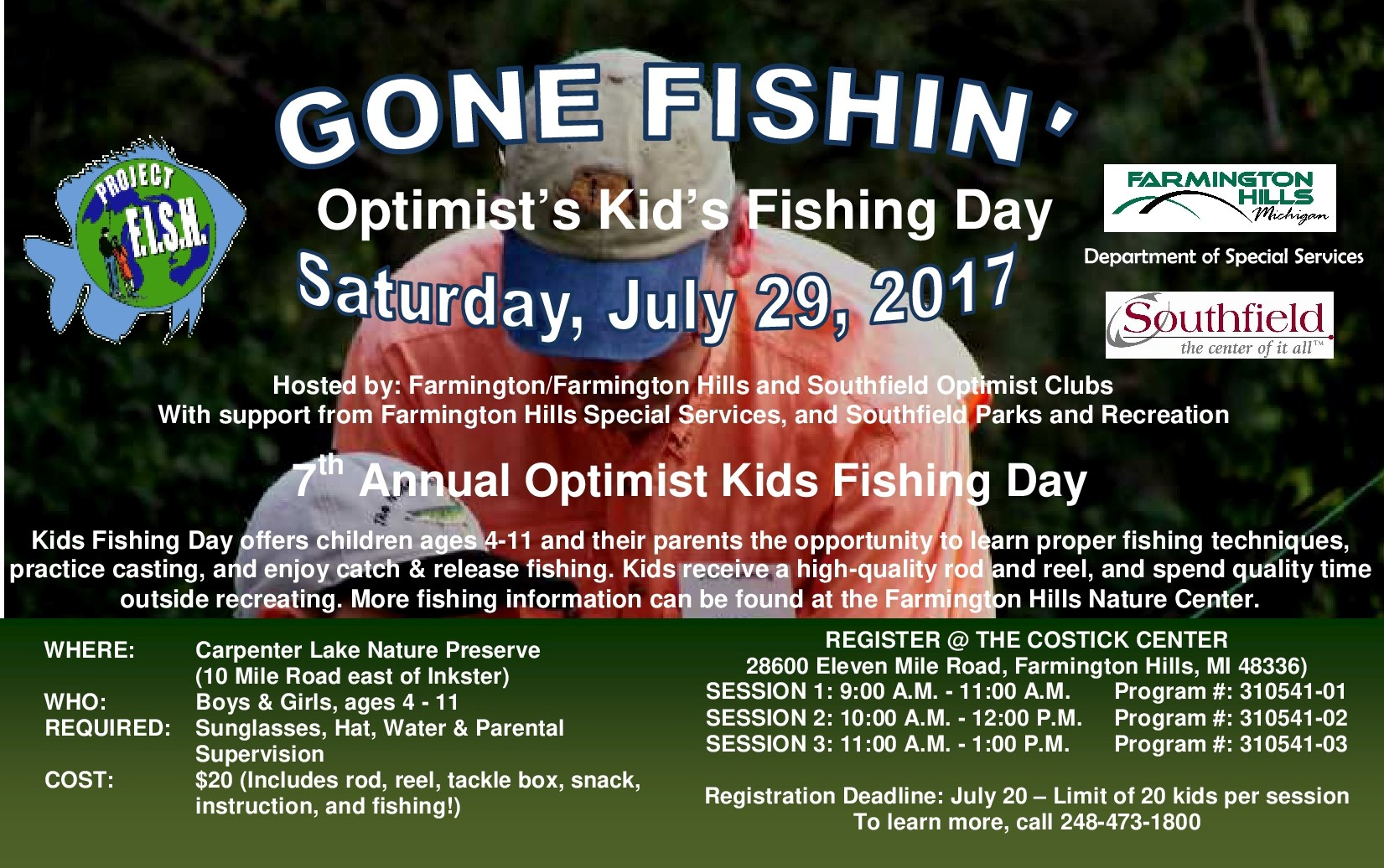 Gone Fishin 2017 Flyer